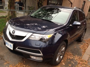 2012 Acura MDX SH-AWD. Photography by Caetano Productions.