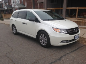 2013 Honda Odyssey. Photo By Sandy Caetano.