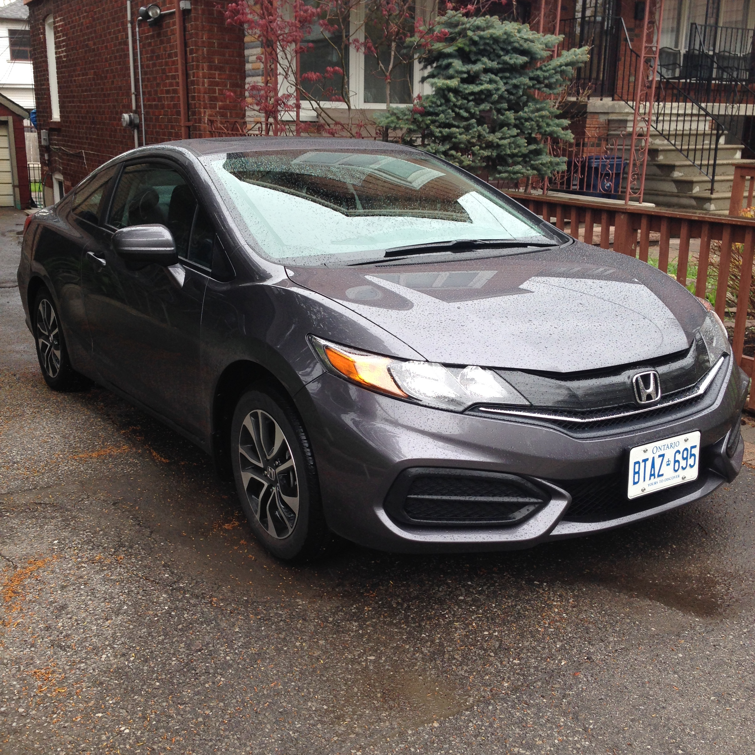 2014 honda civic coupe ex keeping the balance. Black Bedroom Furniture Sets. Home Design Ideas